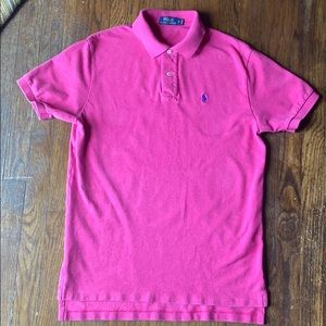 Pink Polo by Ralph Lauren short sleeve polo M